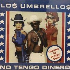 CDs de Música: LOS UMBRELLOS / NO TENGO DINERO (4 REMIXES) (CD SINGLE FLEX RECORDS DE 1998),RF-603. Lote 118926783