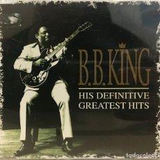 CDs de Música: B.B KING - HIS DEFINITIVE GREATEST HITS SINGLE CD MCA DE 1999 RF-605. Lote 118927203