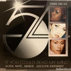 CDs de Música: STARS ON 54 - IF YOU COULD READ MY MIND / CD SINGLE PROMO DE 1998 RF-615. Lote 179012251