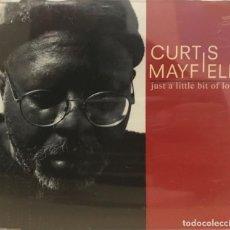 CDs de Música: CURTIS MAYFIELD / JUST A LITTLE BIT OF LOVE (2 VERSIONES) (CD SINGLE 1996) RF-639. Lote 118937699