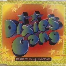 CDs de Música: DIXIE´S GANG / PARTY TIME ,4 VERSIONES-CD SINGLE BLANCO Y NEGRO DE 1999, RF-651 , BUEN ESTADO. Lote 118939311