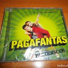 CDs de Música: PAGAFANTAS BANDA SONORA CD ALBUM PRECINTADO HEROES DEL SILENCIO ALEX DE LA NUEZ ARANZAZU CALLEJA. Lote 118941075