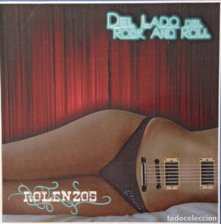 CDs de Música: ROLENZOS CD promo contenido extra DEL LADO DEL ROCK & ROLL - Foto 2 - 118949091