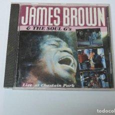 CDs de Música: JAMES BROWN - LIVE AT CHASTAIN PARK CD . Lote 118949679
