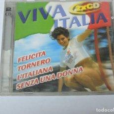CDs de Música: VIVA ITALIA CD X2. Lote 118951475
