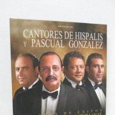 CDs de Música: CANTORES DE HISPALIS Y PASCUAL GONZALEZ. 35 AÑOS DE EXITOS LA GRAN FIESTA DE LAS SEVILLANAS.DVD Y CD. Lote 118967063