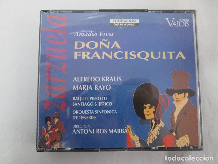 CDs de Música: AMADEO VIVES. DOÑA FRANCISQUITA. ZARZUELA. A. KRAUS. M. BAYO. R. PIEROTTI. S. JERICO. 2 CD Y LIBRO - Foto 9 - 118968391
