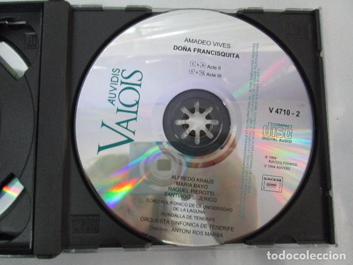 CDs de Música: AMADEO VIVES. DOÑA FRANCISQUITA. ZARZUELA. A. KRAUS. M. BAYO. R. PIEROTTI. S. JERICO. 2 CD Y LIBRO - Foto 11 - 118968391