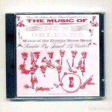 CDs de Música: EUREKA BRASS BAND-THE MUSIC OF NEW ORLEANS, MUSIC OF THE EUREKA BRASS BAND (CD. FOLKWAYS). Lote 118990079