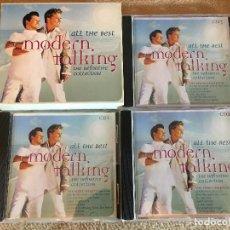CDs de Música: ALL THE BEST MODERN TALKING THE DEFINITIVE COLLECTION COMPLETA 3 CDS MUSICA CD KREATEN. Lote 119010615
