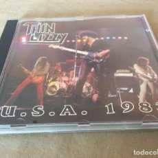 CDs de Música: THIN LIZZY ?– U.S.A. 1983. UNOFFICIAL.. Lote 119084079