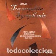 CDs de Música: OLIVIER MESSIAEN - TURANGALILA-SYMPHONIE (CD) BERGEN PHILARMONIC ORCHESTRA, JUANJO MENA. Lote 139557233