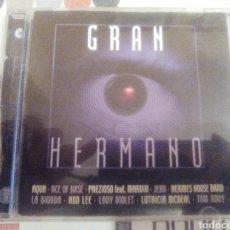 CDs de Música: GRAN HERMANO. Lote 119121538