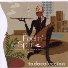 CDs de Música: VARIOUS - FEELIN' THE SPIRIT (CD, COMP) LABEL:BLUE NOTE, EMI MUSIC FRANCE CAT#: 509995210312 4 . Lote 119144479