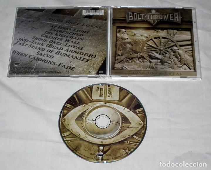 CDs de Música: CD BOLT THROWER - THOSE ONCE LOYAL - Foto 2 - 46505241