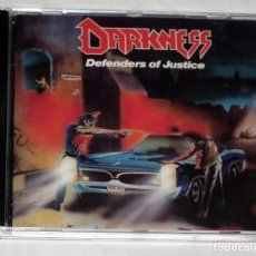 CDs de Música: CD DARKNESS - DEFENDERS OF JUSTICE. Lote 47507924