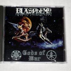 CDs de Música: CD BLASPHEMY - GODS OF WAR. Lote 55986537