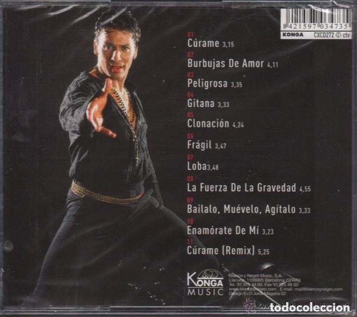 CDs de Música: JAVIER RIOS / CURAME / CD ALBUM , RF-663, PERFECTO ESTADO - Foto 2 - 119169483