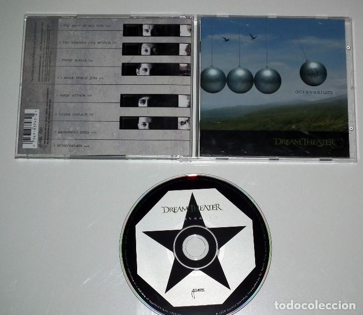 CDs de Música: CD DREAM THEATER - OCTAVARIUM - Foto 2 - 49043115