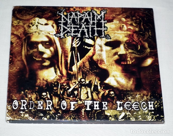 CD NAPALM DEATH - ORDER OF THE LEECH (Música - CD's Heavy Metal)