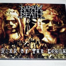 CDs de Música: CD NAPALM DEATH - ORDER OF THE LEECH. Lote 37577779