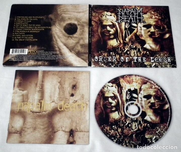 CDs de Música: CD NAPALM DEATH - ORDER OF THE LEECH - Foto 2 - 37577779