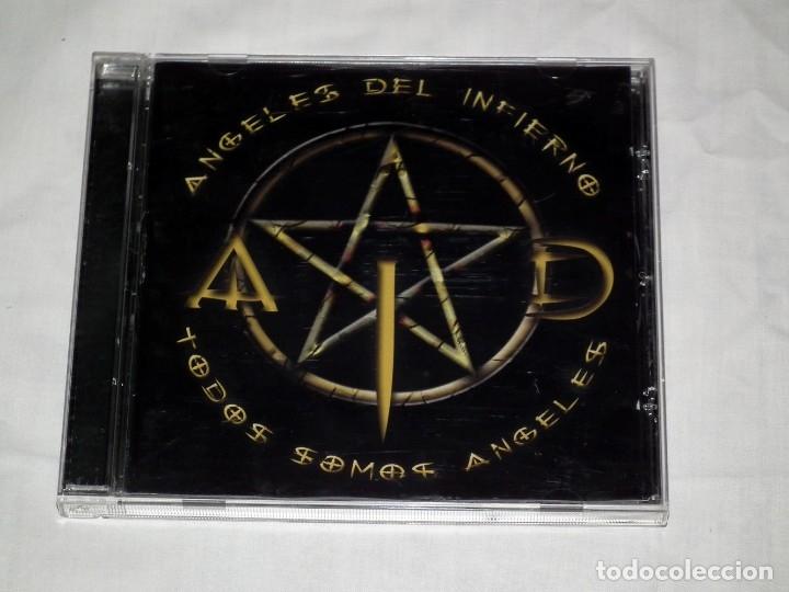 CD ANGELES DEL INFIERNO - TODOS SOMOS ANGELES (BARON ROJO - OBUS) (Música - CD's Heavy Metal)