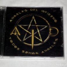 CDs de Música: CD ANGELES DEL INFIERNO - TODOS SOMOS ANGELES (BARON ROJO - OBUS). Lote 42355208