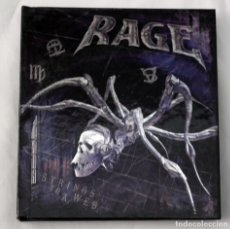 CDs de Música: RAGE - STRINGS TO A WEB SPECIAL EDITION CD+DVD. Lote 53025026