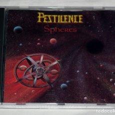 CDs de Música: CD PESTILENCE - SPHERES. Lote 61101463