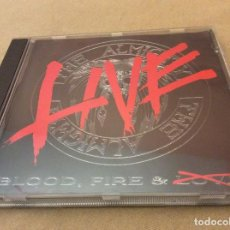 CDs de Música: THE ALMIGHTY - BLOOD FIRE & LOVE LIVE.. Lote 119241383
