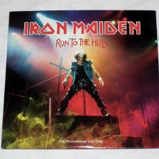 CDs de Música: CD IRON MAIDEN - RUN TO THE HILLS. Lote 40947155