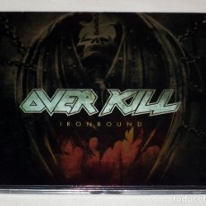 CDs de Música: CD OVERKILL - IRONBOUND. Lote 53025120