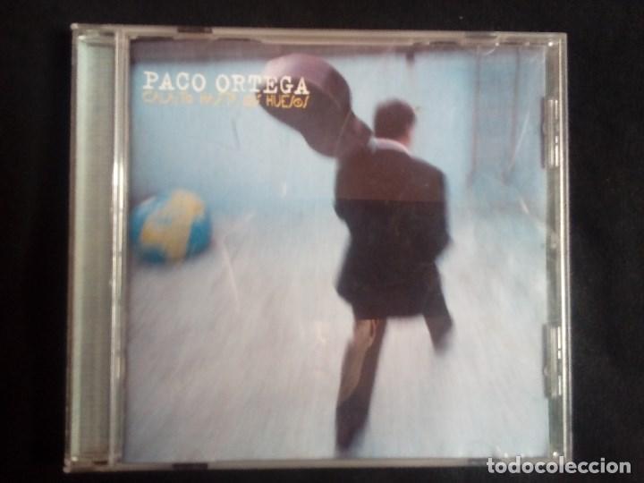PACO ORTEGA: CALAÍTO HASTA LOS HUESOS, CD ALBUM WEA 3984 22710 2. SPAIN, 1998. (Música - CD's Latina)