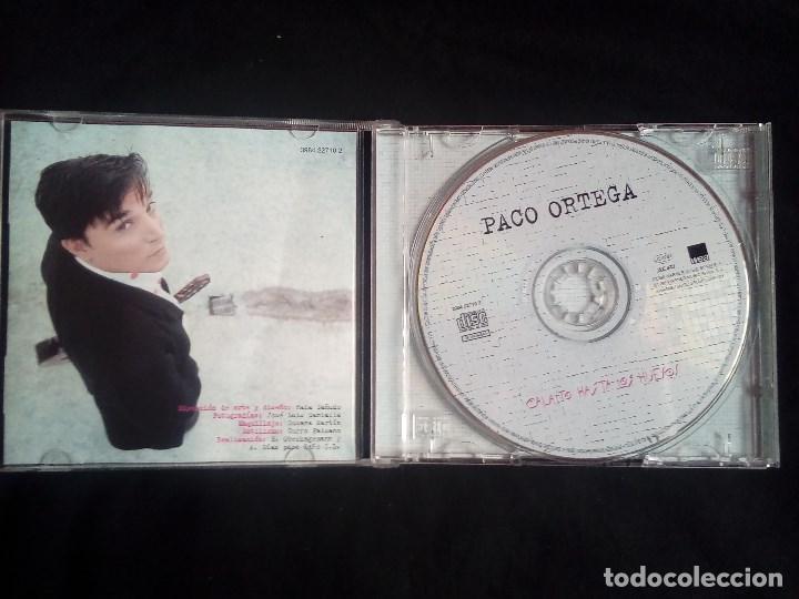 CDs de Música: Paco Ortega: Calaíto hasta los huesos, CD album WEA 3984 22710 2. Spain, 1998. - Foto 2 - 119251283