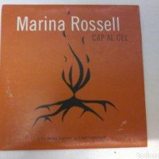 CD de Música: MARINA ROSELL - CAP AL CEL. Lote 119251796