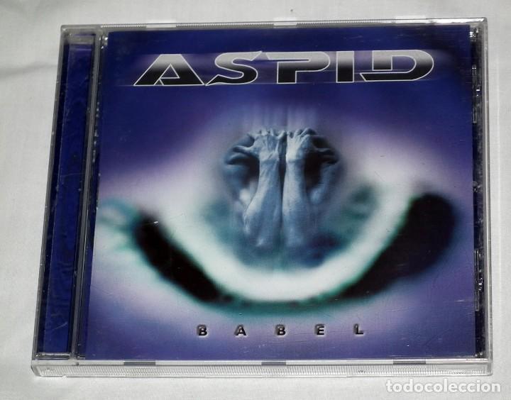CD ASPID - BABEL (Música - CD's Heavy Metal)