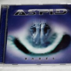 CDs de Música: CD ASPID - BABEL. Lote 119297139