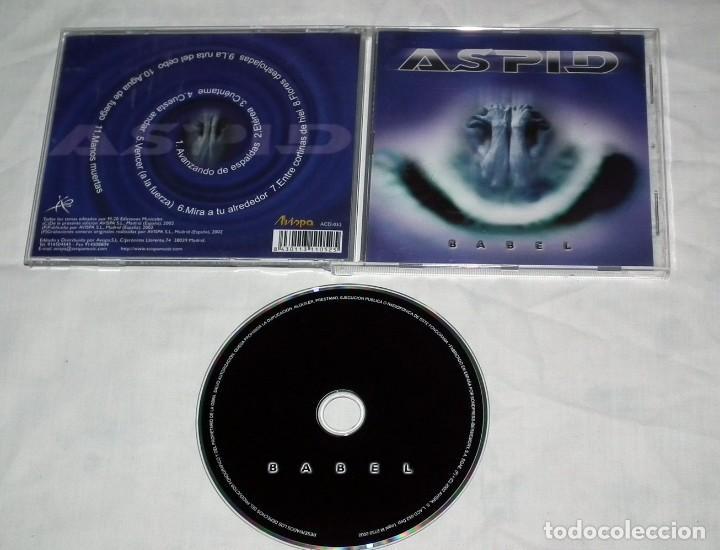 CDs de Música: CD ASPID - BABEL - Foto 2 - 119297139