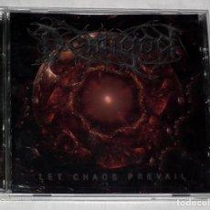 CDs de Música: CD DEMIGOD - LETS CHAOS PREVAIL. Lote 119335239
