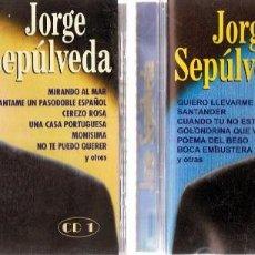 CDs de Música: JORGE SEPÚLVEDA ( CD 1 Y CD 2). Lote 119337255