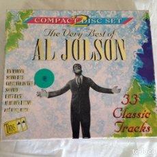 CDs de Música: AL JOLSON 2CD BOX SET-THE VERY BEST OF.-TTCD090B. Lote 119417007