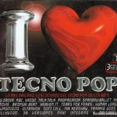 CDs de Música: I LOVE TECNO POP (3 CD). Lote 119440035