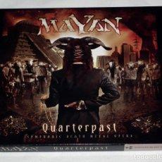 CDs de Música: CD MAYAN - QUATERPAST. Lote 119500011