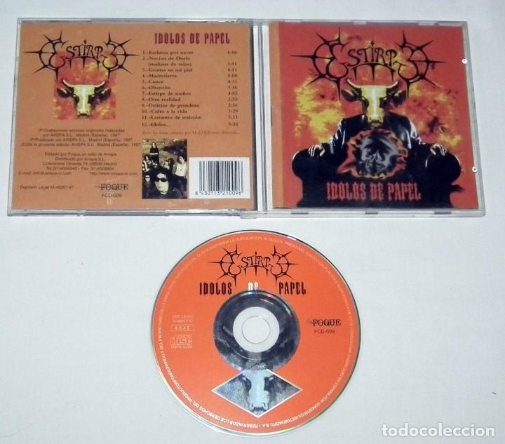 CDs de Música: CD ESTIRPE - ÍDOLOS DE PAPEL - Foto 2 - 119500799