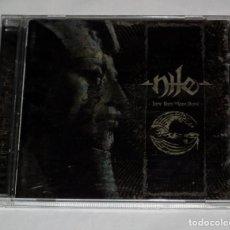 CDs de Música: CD NILE - THOSE WHOM THE GODS DETEST. Lote 119501699