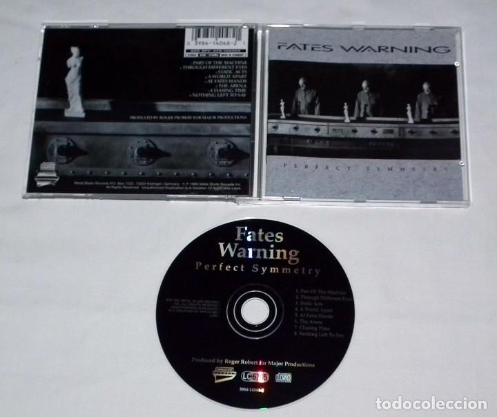 CDs de Música: CD FATES WARNING - PERFECT SYMMETRY - Foto 2 - 31244374