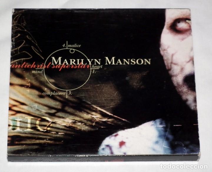 CD MARYLIN MANSON - ANTICHRIST SUPERSTAR (Música - CD's Heavy Metal)