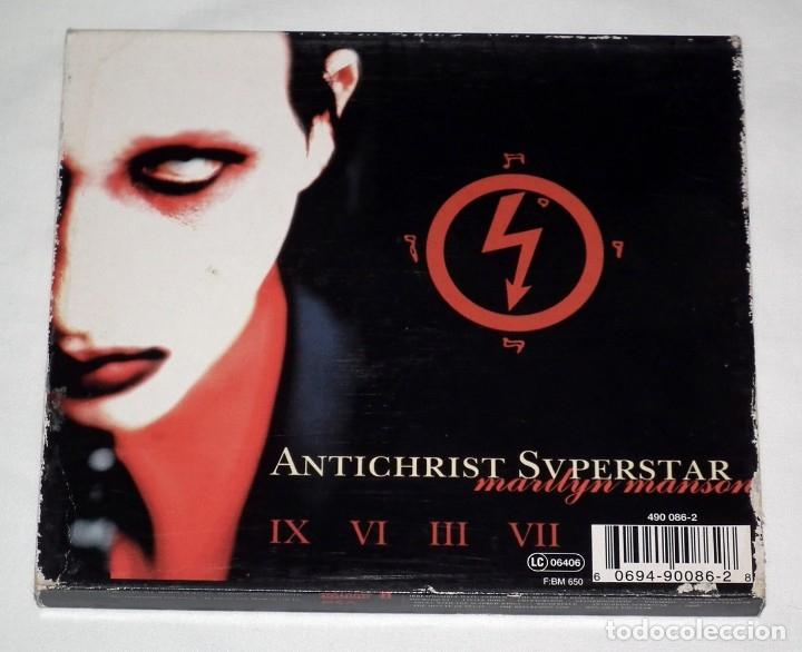 CDs de Música: CD MARYLIN MANSON - ANTICHRIST SUPERSTAR - Foto 4 - 64739475