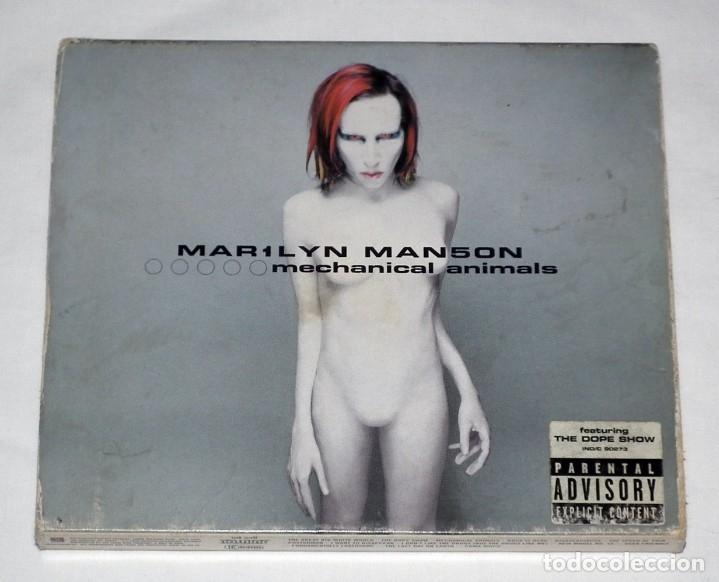 CD MARYLIN MANSON - MECHANICAL ANIMALS (Música - CD's Heavy Metal)